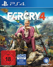 SONY PS4 Far Cry 4 PlayStation 4 Shooter Psycho Diktator deutsch gebraucht OVP