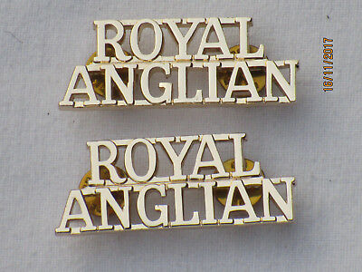 Royal Anglian Regiment Anodised Aluminium Staybright Firmin & Sons Ltd
