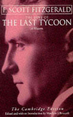 (Good)-Love Of The Last Tycoon: A Western (Paperback)-Fitzgerald, F. Scott-03491