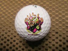 LOGO GOLF BALL-HARD CHARGIN BULLS..SPORTS TEAM.....NO-HALF STEPPIN.....HELP???