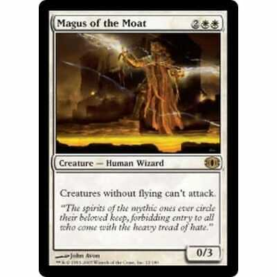 MTG FUTURE SIGHT Rare Card  1 x  MAGUS OF THE MOAT   Never Played