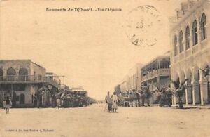 Souvenir-de-DJIBOUTI-Rue-d-039-Abyssinie