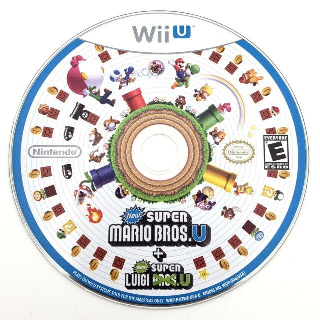 Super Mario Bros And Luigi U Nintendo Wii U Disc Only See