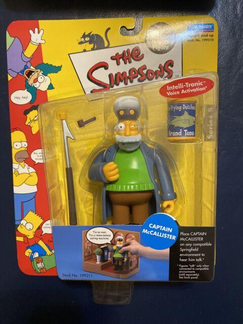 Playmates The Simpsons Series 5 World of Springfield Captain McCallister Figure