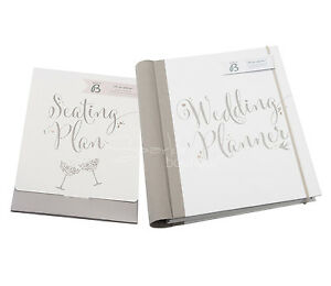 wedding planner book seating plan set organiser journal engagement gift ebay