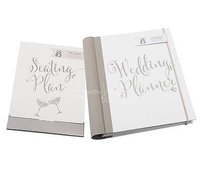WEDDING PLANNER BOOK & SEATING PLAN SET - Organiser/Journal - Engagement Gift