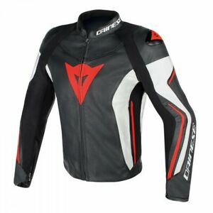 Dainese-Assen-Leather-Jacket-Mens-Motorcycle-Motorbike-Track-SALE