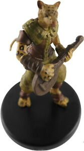 Details about D&D mini TABAXI MINSTREL (Catfolk) Dungeons & Dragons TOA  Pathfinder Miniature