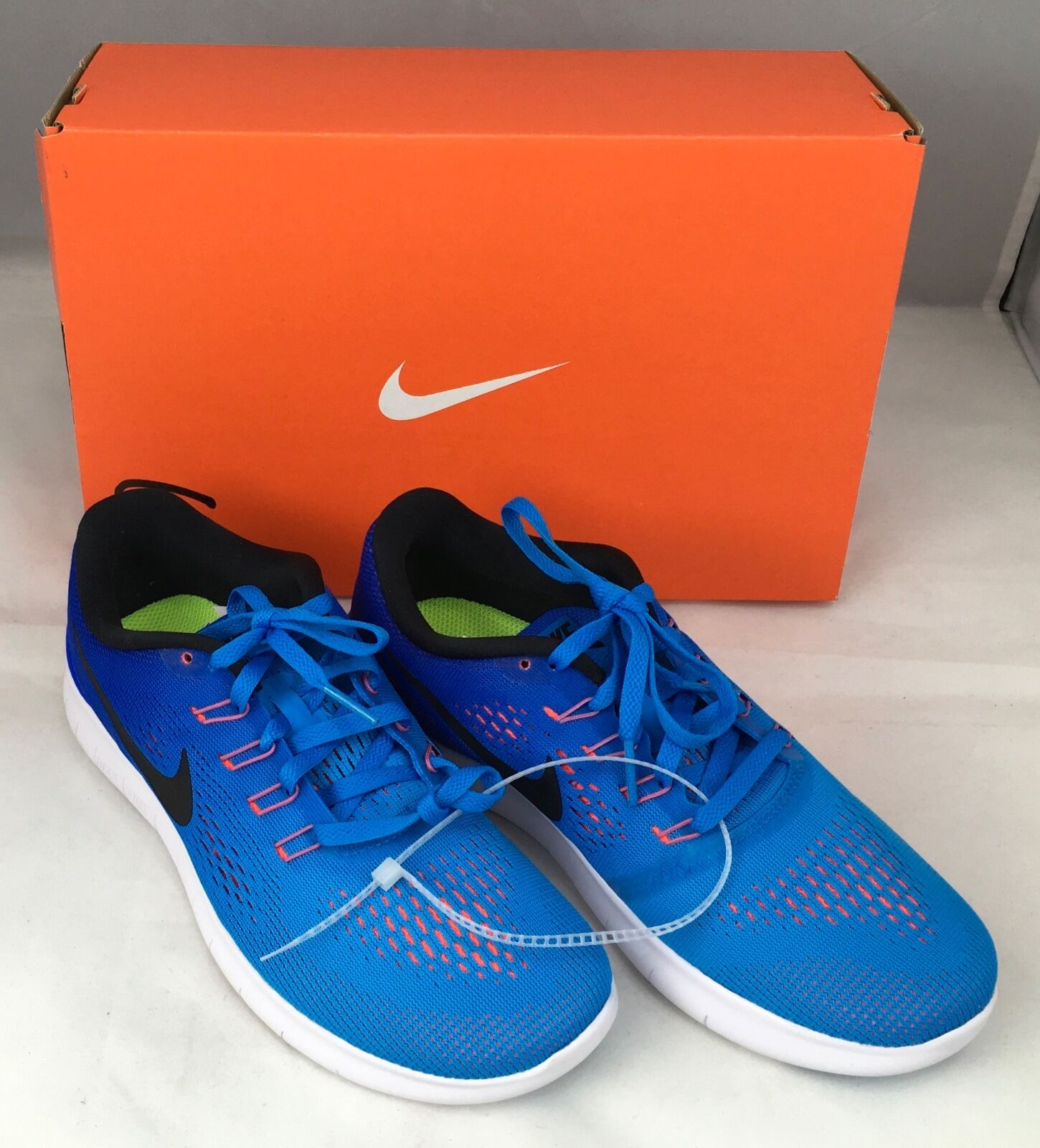 Nike Free RN Women's Running shoes Sneaker bluee Size US 6.5 NIB