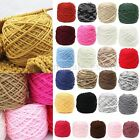 200g Soft Smooth Cotton Natural Double Knitting Wool Yarn Ball Baby Woolcraft