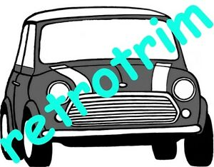 image is loading classic-mini-super-de-luxe-countryman-traveller-a3-