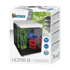 c27a65af156 item 3 Superfish Home 8 Mini Aquarium White Cube Fish Tank LEDs   Filter -Superfish  Home 8 Mini Aquarium White Cube Fish Tank LEDs   Filter
