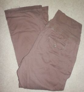 8ab40254e952b Old Navy Plus Size Maternity Pants XXL 2X Corduroy GUC roll over ...