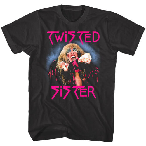 Twisted Sister Stay Hungry Album Men/'s T Shirt Dee Snider Singer Glam Rock Band