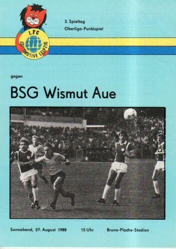 FC Lok Leipzig OL 88//89  1 BSG Wismut Aue