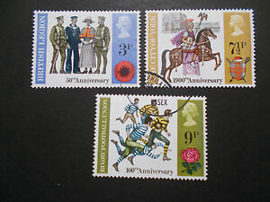 GB-1971-Commemorative-Stamps-Anniversaries-Very-Fine-Used-Set-ex-fdc-UK-Seller