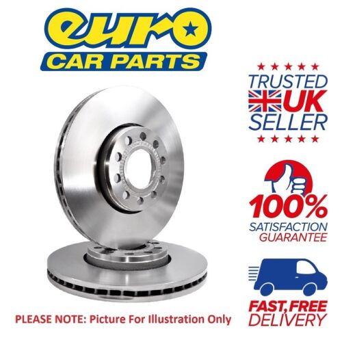 ATE 2x Rear 298mm Solid Brake Discs Set Mercedes Sprinter 311 CDi 2.1 01//08