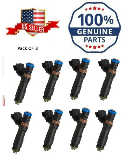 Ford Motorcraft Fuel Injectors for 05-07 Expedition F150 F250 F350 Navigator 8