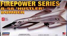 Lindberg Convair  B-58 Hustler bomber model kit 1/64