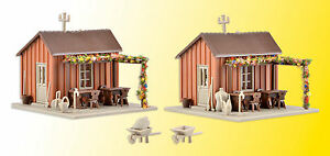 Vollmer-43640-Gauge-H0-Allotment-Shed-2-Piece-New-in-Original-Package