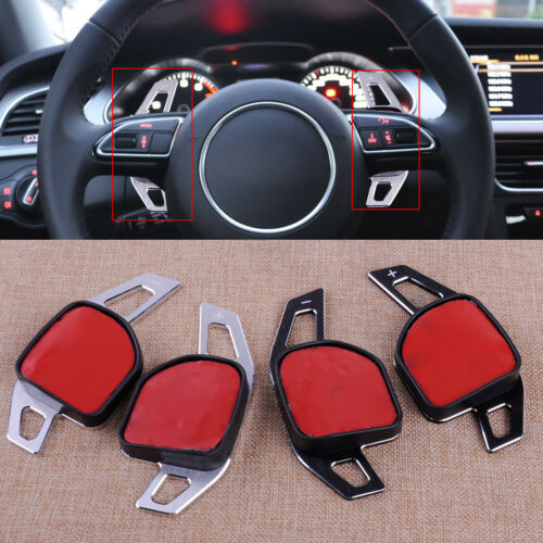 Steering Wheel Shift Gear Paddle Extension Fit For Audi A1 A3 A4 A6 A7 A8 Q7 ht