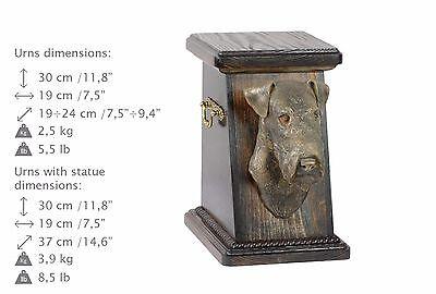 100% QualitäT Fox Terrier, Urne, Kalte Bronze, Artdog, De, Type 3 Verbraucher Zuerst