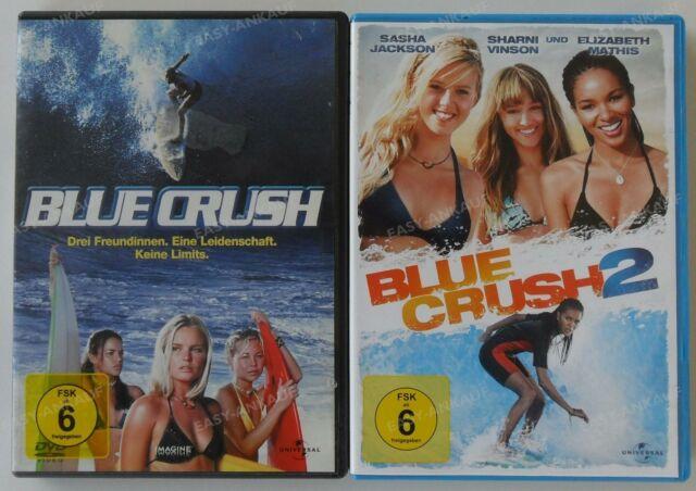 Blue Crush Teil 1+2 DVD Sammlung (Kate Bosworth/Sasha Jackson) .