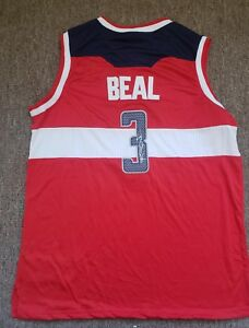 official photos 7782c 50544 Details about BRADLEY BEAL signed autographed WASHINGTON WIZARDS Jersey  2018 ALL STAR w/ COA