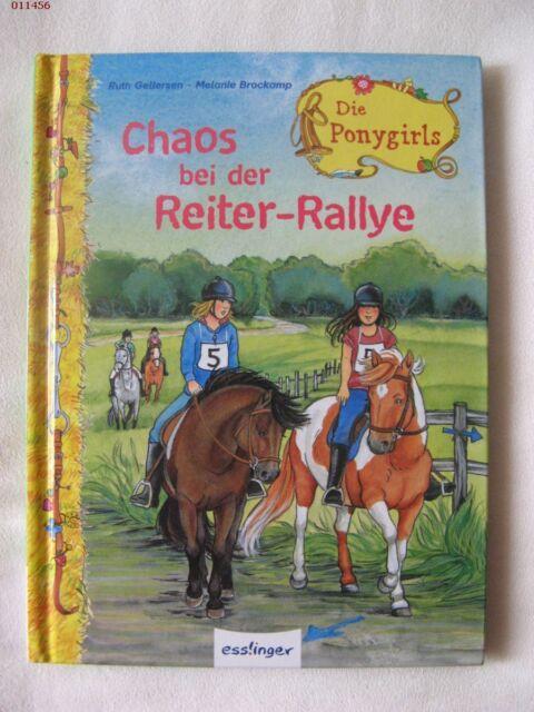 Ruth Gellersen Melanie Bockamp DIE PONYGIRLS #7 CHAOS BEI DER REITER-RALLYE geb.