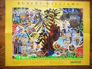 ROBERT-WILLIAMS-POSTER-COMIC-ART-COMIX-HOT-ROD-RAT-FINK-ED-ROTH-CAR-robert-crumb
