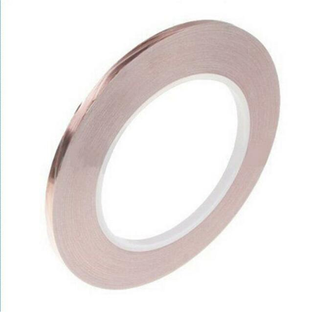 Hot Sale New 1 Roll Single Conductive COPPER FOIL Tape Adhesive 5MM X 30M