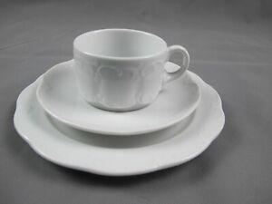 Kaffeetasse Tasse Rosenthal Monbijou weiss Hotel Geschirr