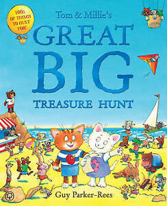 Tom-and-Millie-039-s-Great-Big-Treasure-Hunt-by-Parker-Rees-Guy-ExLibrary