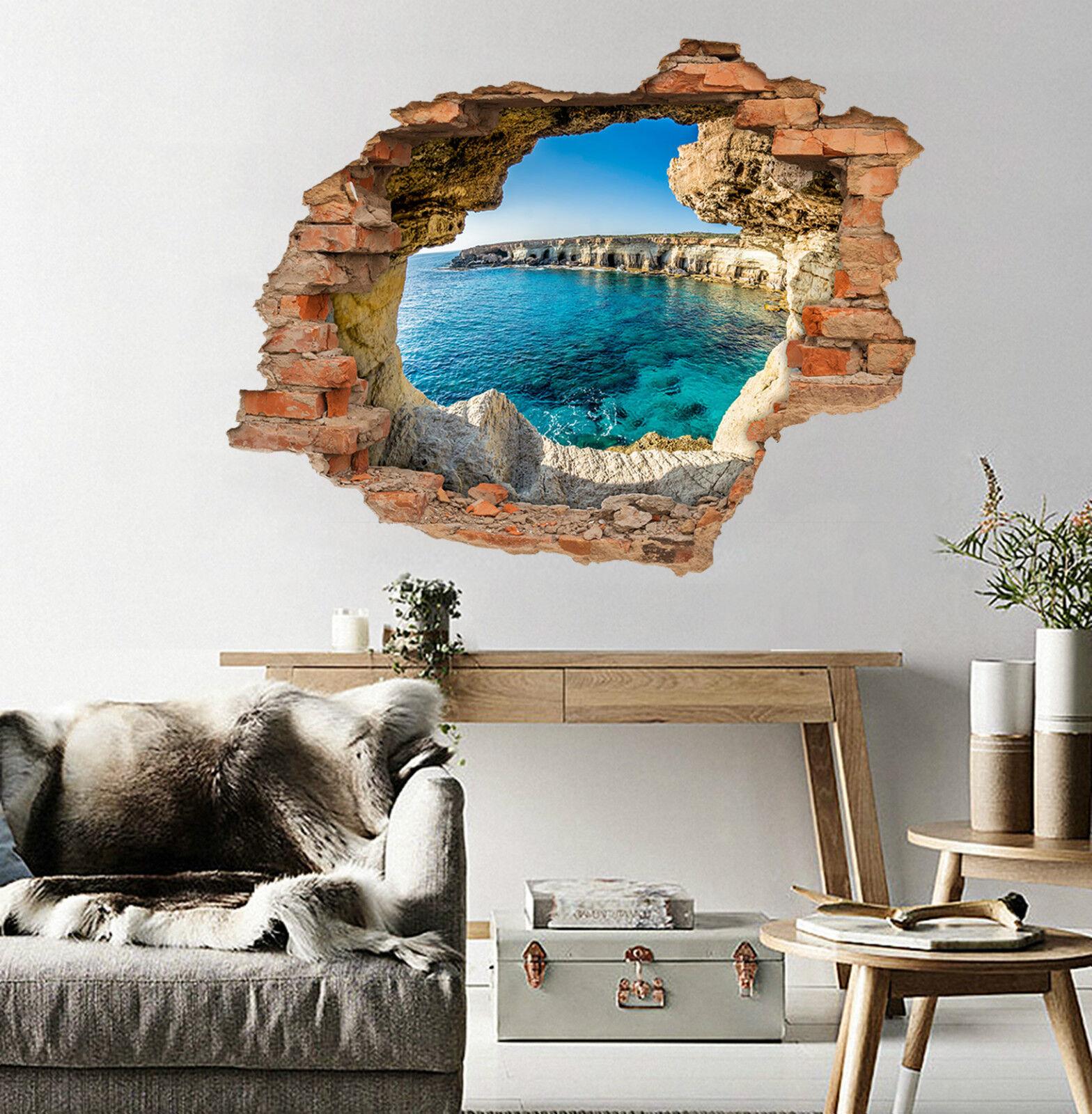 3D Sky Wasser 5523  Mauer Murals Aufklebe Decal Durchbruch AJ WALLPAPER DE Lemon