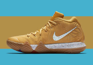 detailing 5d2ca 775ca Details about Nike Kyrie 4 Cinnamon Toast Crunch CTC Size 13. BV0426-900. 5  V PE QS Tan Blue.