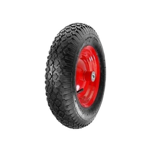 Schubkarrenrad Schubkarre Rad Reifen Ersatzrad Luftrad 4.00-8 2PR Ø 390 mm 130kg