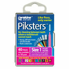 Piksters Interdental Brush (Purple), Size 1 - 40 Pack