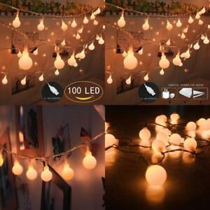 image is loading 100 led globe string lights ball christmas lights
