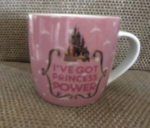 Disney Princess Ceramic Mug collectable  i've got princess powers