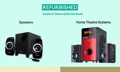 Refurbished Audio & Home Entertainment