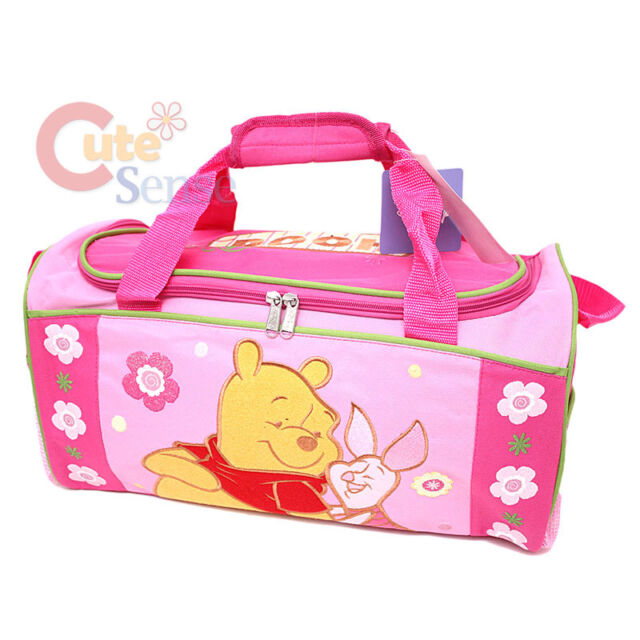 "TRAVEL BAG NEW IN PACKAGE WINNIE THE POOH AND PIGLET 16/"" DISNEY  LARGE DUFFLE"