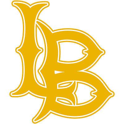 "Long Beach LBC 3/"" Logo Vinyl Decal Sticker LB State University City College #1"