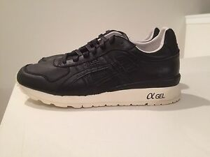 cheap for discount 7219a a95bc Details about Asics Black Leather GT-2