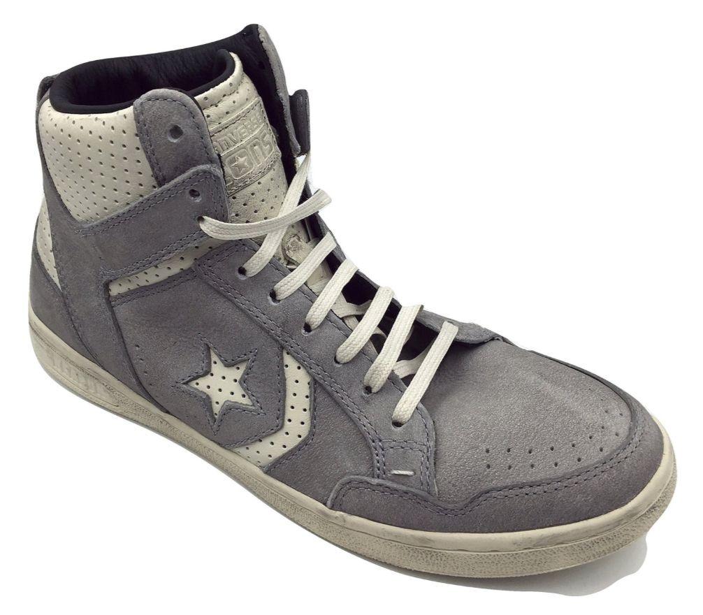 Scarpe casual da uomo  Converse JOHN VARVATOS Weapon Mid Sneaker Wild Dove CONVERSE X 142964C Size 7.5