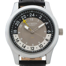 Voyager - 2 time zones 24 hour GMT watch, Swiss quartz movement. Limited Edition