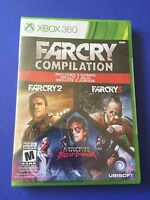 Far Cry Compilation (Microsoft Xbox 360, 2014) Video Games