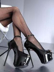 talons de nuit de talons sexy femmes forme aiguilles boîte 16cm hauts à Plate et pour 8yvNn0Omw