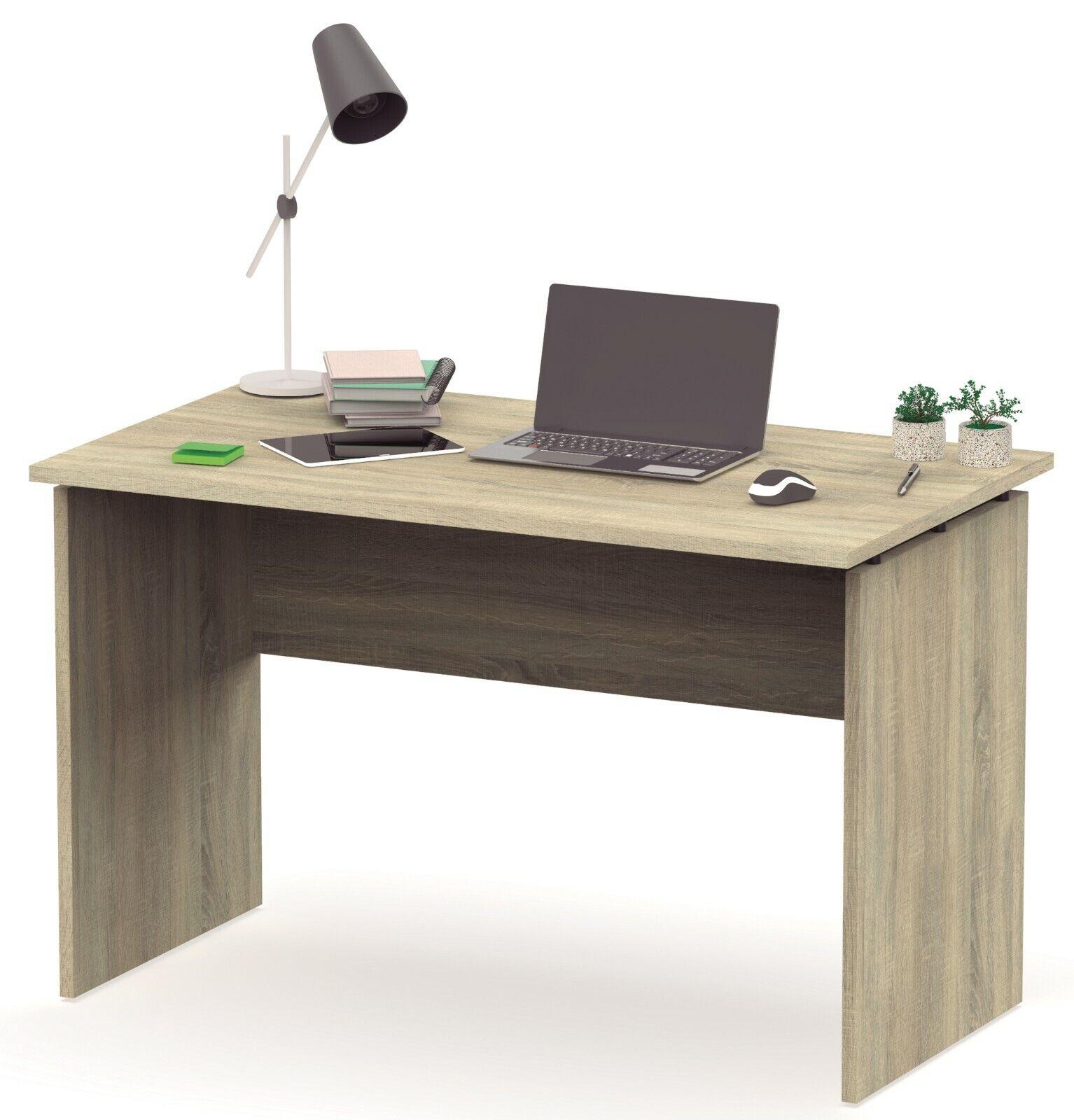 Escritorio mesa de ordenador color cambrian de despacho, oficina o estudio 120cm