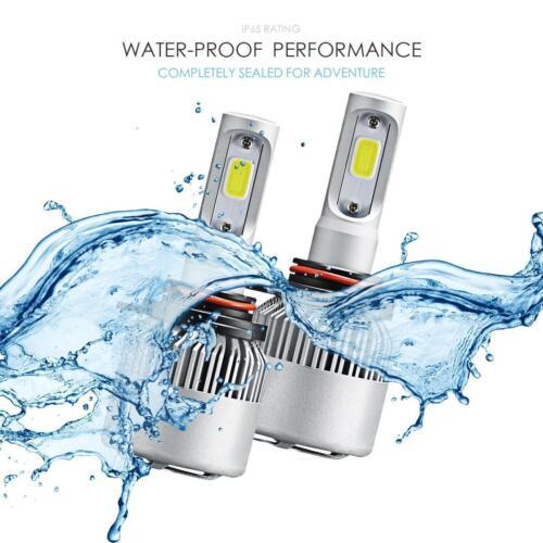 IRONWALLS 9012 HIR2 2000W 300000LM LED Headlight Kit High Low Beam Bulbs 6000K