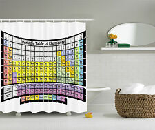 Periodic table elements phd gifts chemistry science lover fabric periodic table elements phd gifts chemistry science lover fabric shower curtain urtaz Image collections